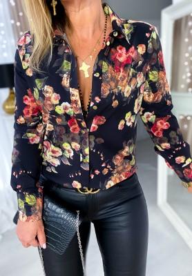 Koszula Flores Black