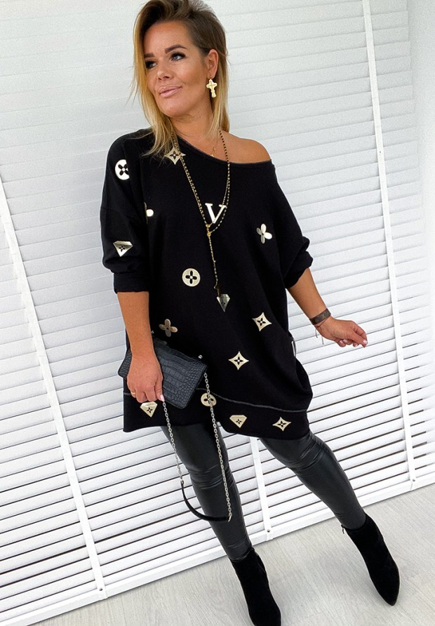 Sukienka Tunika Vitto Black