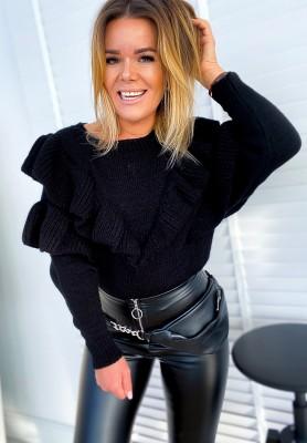 Sweter Florentina Czarny
