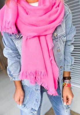Szal Neon Pink