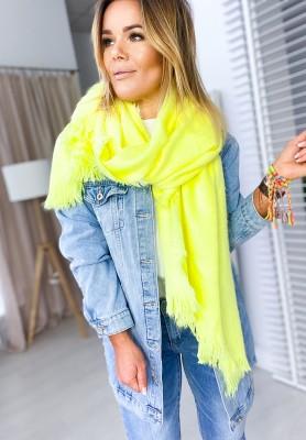 Szal Neon Lime