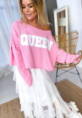 Bluza Queen Róż