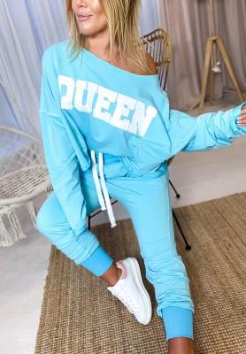 Spodnie Queen Turkus