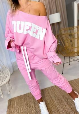 Spodnie Queen Róż