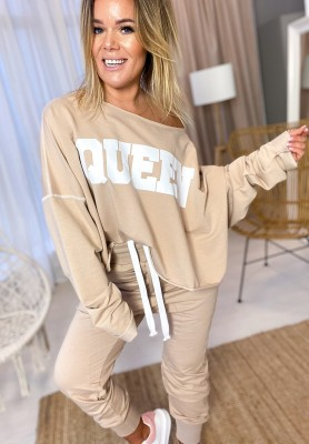 Bluza Queen Nude