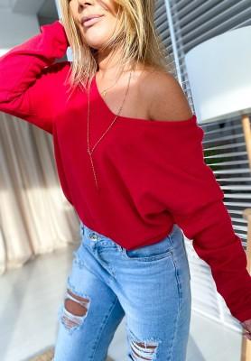 Sweter Parma Czerwony