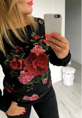 Bluza Roses Black