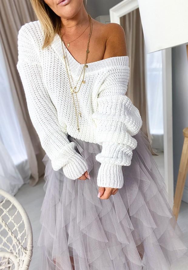 Sweter Corina Biały