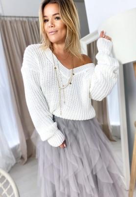 Sweter Tasmania Biały