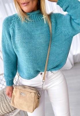 Sweter Porto Turkus