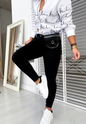 Spodnie Basic Black