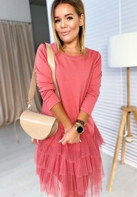 Sukienka Tiul Vanessa Pink