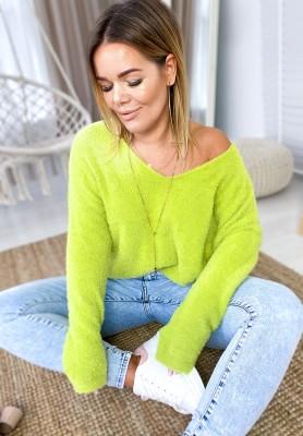 Sweter Inter Zielony