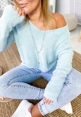 Sweter Inter Niebieski