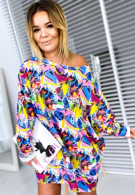 Sukienka Tunika Colormix