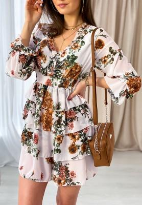 Sukienka Abbi Ecru