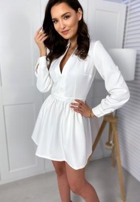 Sukienka Clarossa Ecru