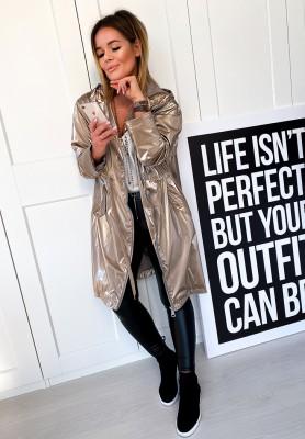 Kurtka Płaszcz Outfit Gold