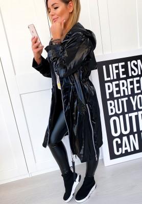 Kurtka Płaszcz Outfit Black