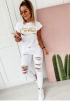 T-shirt Ciao-Ciao White