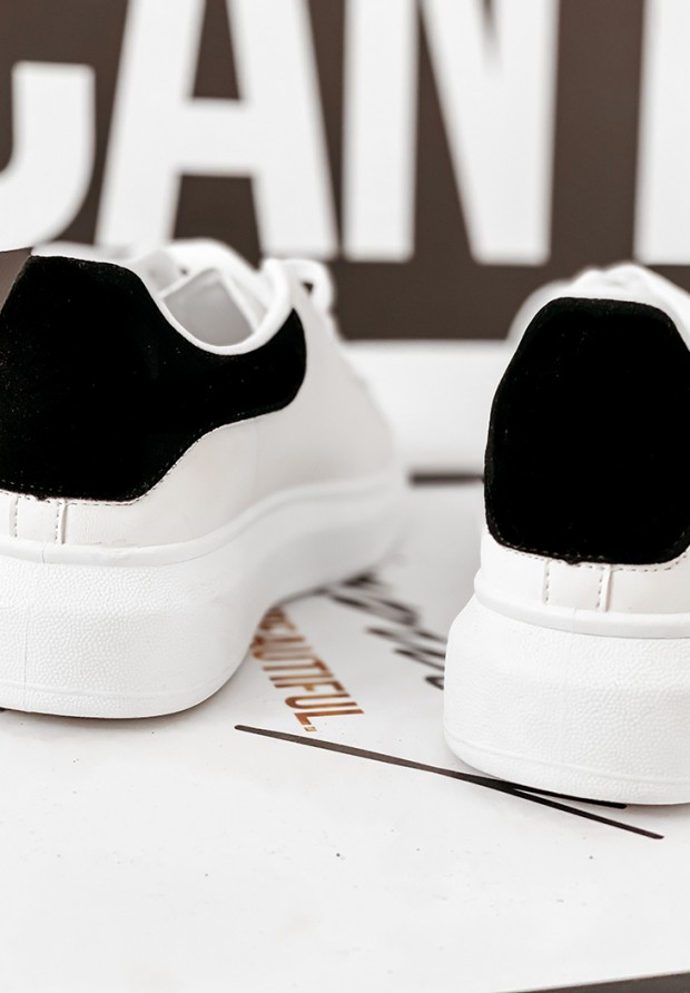 Buty Queen White&Black