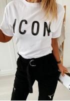 T-shirt Icon White