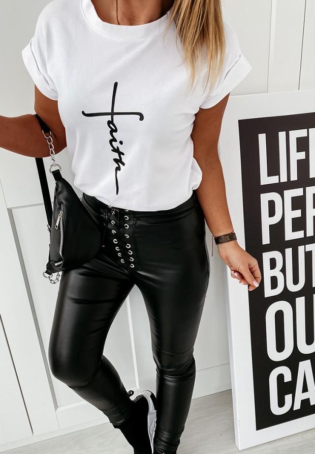 T-shirt Faith White