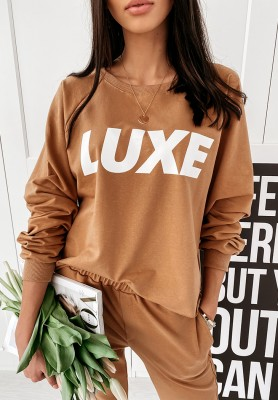 Bluza Luxe Camel