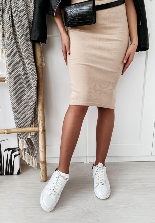 Spódnica Slim Skirt Nude