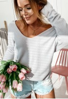 Sweter Parma Szary