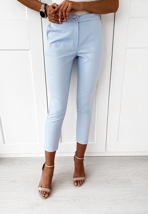 Spodnie Cygaretki Premium Baby Blue