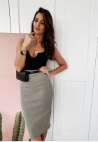 Spódnica Ava Slim Khaki