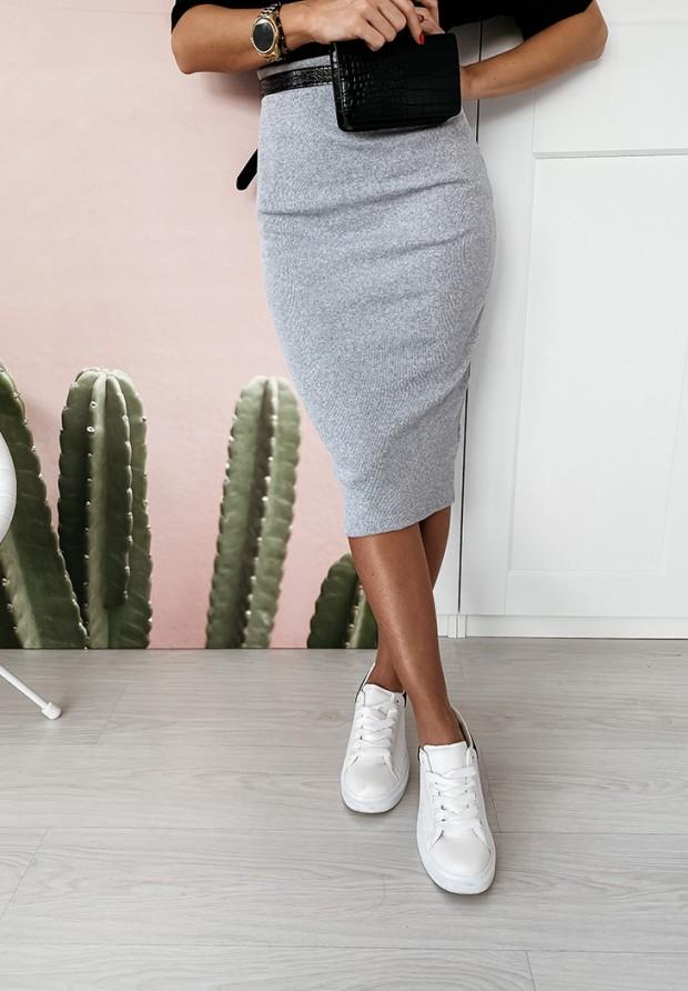 Spódnica Ava Slim Grey