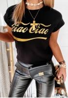 T-shirt Ciao-Ciao Black