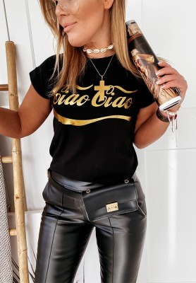 T-shirt Ciao-Ciao Black