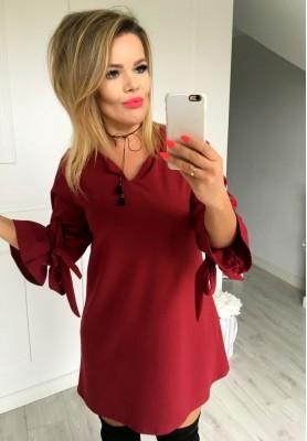 Sukienka Sofia Bordo