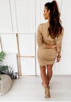 Sukienka Maxena Nude