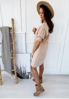 Sukienka Andzela Collection Nude