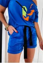 Shorty Lamu Blue