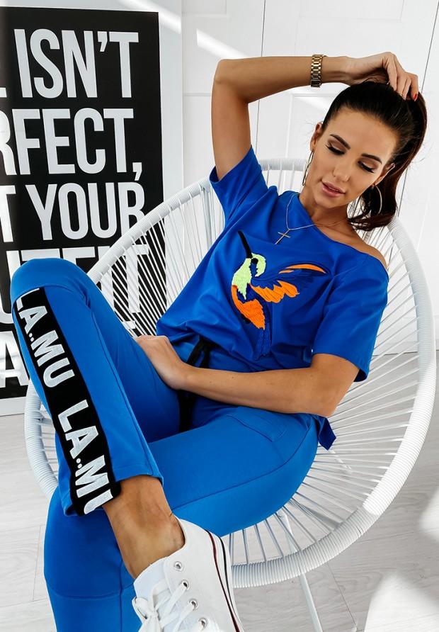 Spodnie Dresowe Lamu Blue
