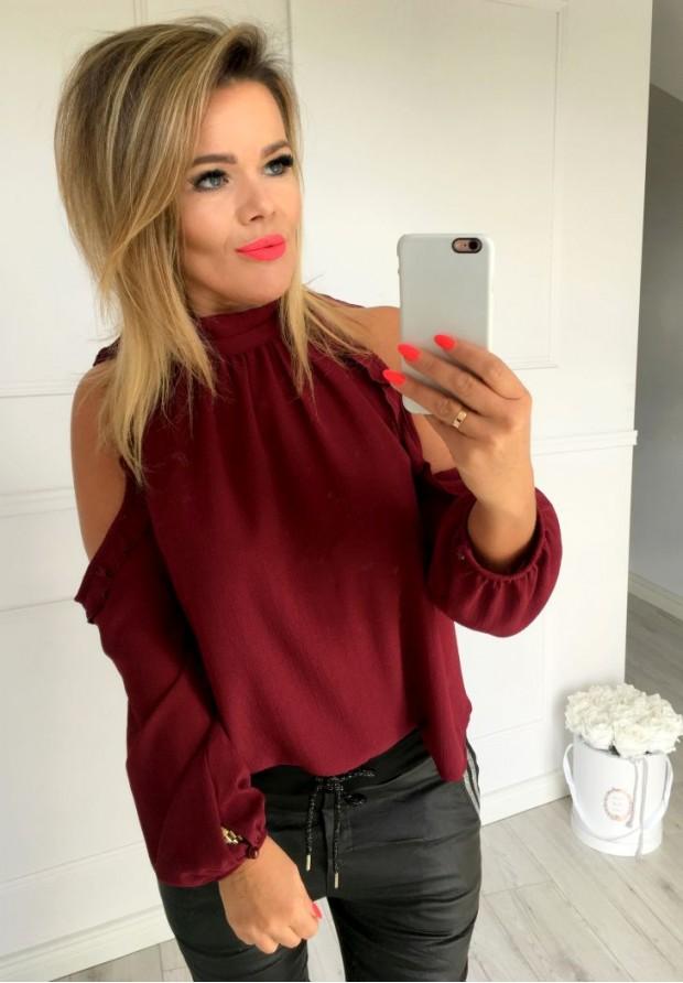 Bluzka Kylie Bordo