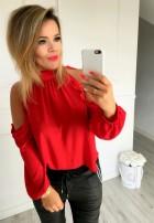 Bluzka Kylie Czerwona