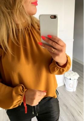Bluzka Kylie Musztarda