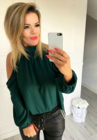 Bluzka Kylie Zieleń