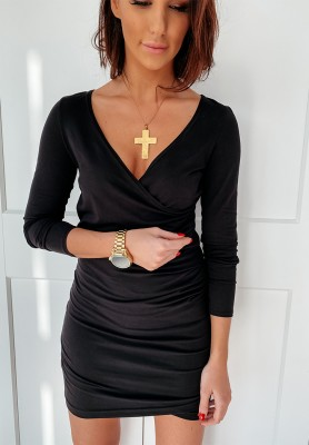 Sukienka Basic Slim Czarna