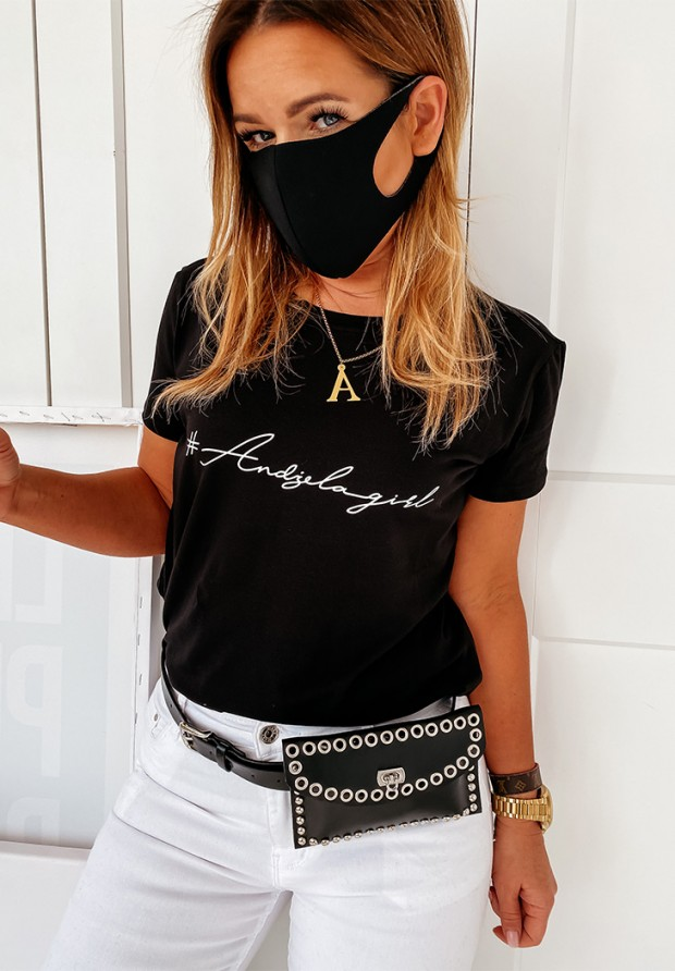 Maska Black Design 5 Szt. rozmiar L