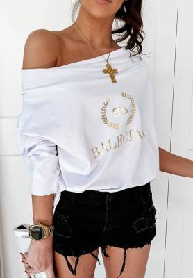 Bluzka Balencia White