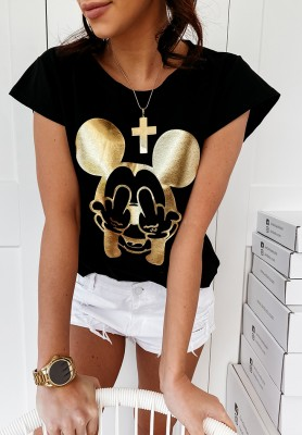 Bluzka Mickey Black