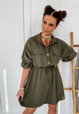 Sukienka Milady Khaki
