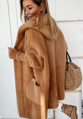 Płaszcz Alpaka Cocomore Camel Sona